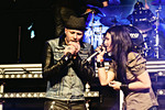 Rezophonic - Oliviero Riva and Cristina Scabbia - RockTV 11 B-DAY PARTY #73