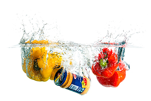 Splash Colors #4 - Peppers and Barilla