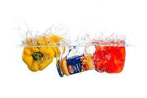Splash Colors #5 - Peppers and Barilla